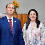 INTENDENTE ARRAU PRESENTA A NUEVA DIRECTORA REGIONAL DEL SERVICIO NACIONAL DE MENORES