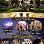 SEGUNDO FESTIVAL Y ENCUENTRO DE RAÍZ FOLCLÓRICA YUMBEL 2019.