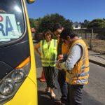 SEREMI DE TRANSPORTES Y GOBERNACIÓN DE ITATA FISCALIZAN BUSES INTERURBANOS POR ALZA EN ARRIBO DE TURISTAS