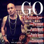 """EL CANTANTE NACIONAL GO, LLEGA CON TODO EL SOUL AL SUR DE CHILE EN SU GIRA """"MI MÚSICA TOUR"""""""
