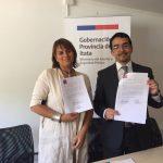 SUPERINTENDENCIA DE INSOLVENCIA FIRMA CONVENIO CON GOBERNACIONES ITATA Y DIGUILLÍN