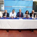 GOBIERNO REGIONAL FIRMA LOS PRIMEROS CONVENIOS PARA FINANCIAMIENTO DE PROYECTOS A TRAVÉS DEL FONDO REGIONAL DE INICIATIVA LOCAL