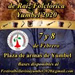 TERCER FESTIVAL DE RAÍZ FOLCLÓRICA EL CENTRO CULTURAL BELLAVISTA DE YUMBEL