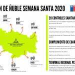 AUTORIDADES ANUNCIAN PLAN DE CONTROL PARA SEMANA SANTA REGIÓN ÑUBLE