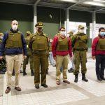 INTENDENTE ARRAU LIDERA RONDA POLICIAL EN DISTINTOS PUNTOS DE LA CAPITAL REGIONAL