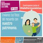 MINISTERIO DE LAS CULTURAS INVITA A COMPARTIR FOTOGRAFÍAS, OBJETOS Y MEMORIAS SIGNIFICATIVAS PARA ESTE DÍA DEL PATRIMONIO EN CASA