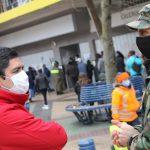 FUNCIONARIOS DE LA GOBERNACIÓN DE DIGUILLÍN REALIZARON ROMPEFILAS EN DIFERENTES AFP DE CHILLÁN