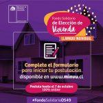 POSTULACION FONDO SOLIDARIO DE ELECCIÓN DE VIVIENDA  COMUNA DE YUNGAY