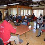 SEREMI MOP ÑUBLE AVANZAN INICIATIVAS CON REGANTES DE ÑUBLE TRAS VISITA DE DIRECTOR NACIONAL DOH
