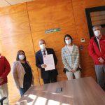 SENADIS ÑUBLE SELLA CONVENIO PARA POTENCIAR OFICINA DE DISCAPACIDAD DE PINTO
