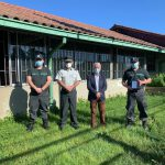 YUNGAYINO, ÁLVARO LÓPEZ ACUÑA, ASUME COMO NUEVO ALCAIDE DEL CENTRO DE DETENCIÓN PREVENTIVA (CDP) EN YUNGAY