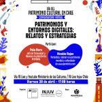 MINISTERIO DE LAS CULTURAS E INJUV INVITAN A UNA EDITATÓN PATRIMONIAL EN WIKIPEDIA PARA ESTE DÍA DEL PATRIMONIO