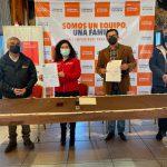 SENDA ÑUBLE, FIRMA CONVENIO DE COLABORACIÓN CON COPELEC PARA LA PREVENCIÓN DE DROGAS.